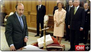 Rubalcaba la pieza estrategica de Zapatero.