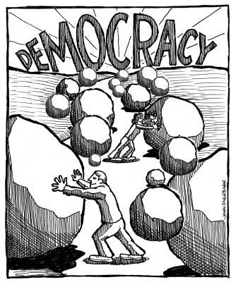 La democracia enferma de Chile